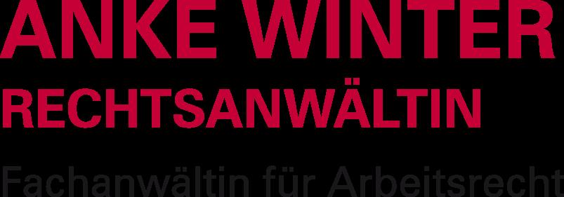 Anke Winter Rechtsanwältin - Fachanwältin für Arbeitsrecht